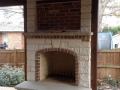 Outdoor Fireplace | Covered Structure