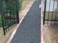 Greay Crushed Granite Walkway