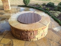 Flagstone Patio | Firepit