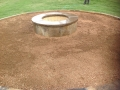 Crushed Stone | Wood Fire-Pit